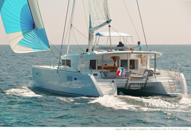 Lagoon 450 Catamaran for bareboat charter