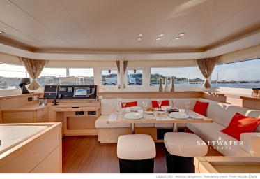 Lagoon 450 3 cabins owners version for charter in Greece