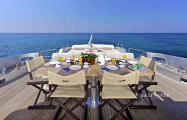 Thea Malta Luxury Motor Yacht for Charter in Greece and Mediterranean. Saltwater Yachts