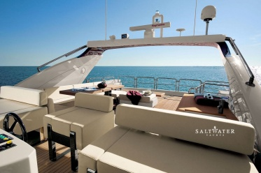 Duke Azimut 103 SL Motor Yacht for Charter in Greece and Mediterranean. Saltwater Yachts