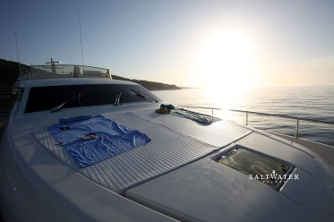 Kentavros II Ferretti Motor Yacht for Charter in Greece and Mediterannean. Saltwater Yachts