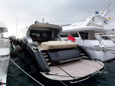AB 92 Coupe Super Yacht for sale in Greece. Motor Yacht  for sale. Saltwater Yachts
