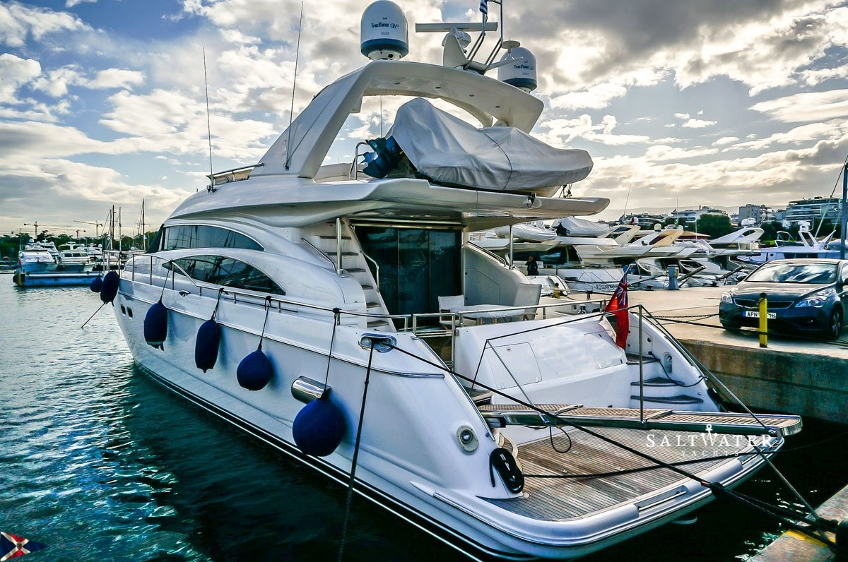 Princess 21m Motor Yacht For Sale In Greece Used Motor