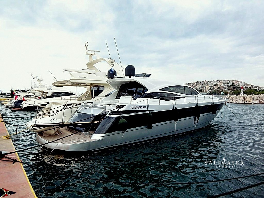 Pershing 62 motor yacht for sale used yachts for sale for Used motor yacht for sale