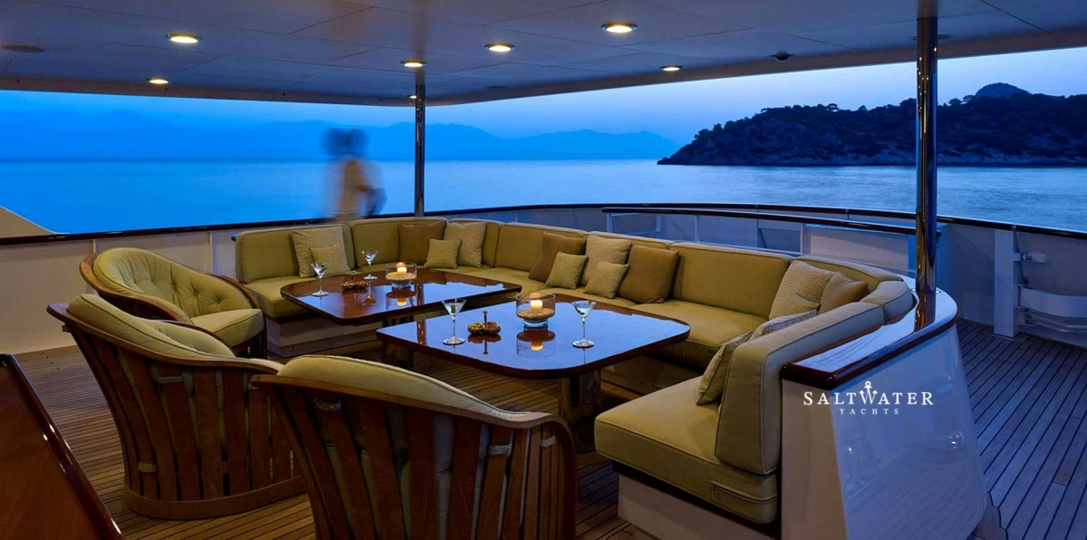 Ancallia Feadship Super Yacht For Charter In Greece And