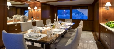 Ancallia Feadship Super Yacht for charter in Greece and Mediterranean
