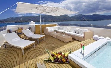 O'Leanna Motor Super Yacht for Charter in Greece and Mediterranean - Saltwater Yachts
