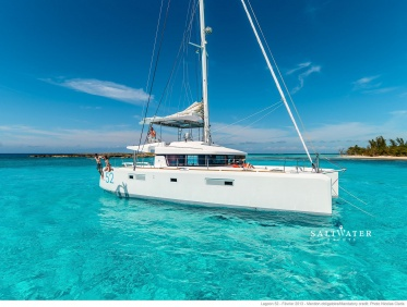 Lagoon 52 F Catamaran for Charter in Greece = Saltwater Yachts