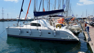 Lagoon 380 catamaran for charter in Greece - Saltwater Yachts